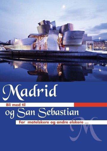 og San Sebastian - Norsk Tur