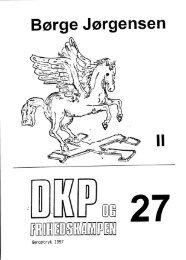 DKP og Frihedskampen Bind 27