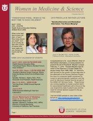 2010 March Newsletter - University of Utah - School of Medicine