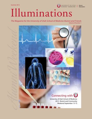 Summer 2012 - University of Utah - School of Medicine
