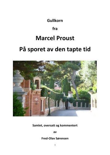 Klikk her for å få opp boka! - Gullkorn fra Marcel Proust