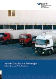Spezial 1: Be- und Entladen von Fahrzeugen - Sicherer Einsatz an ...