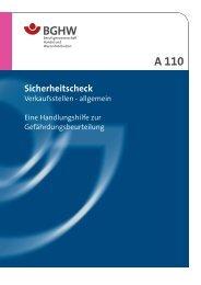Sicherheits-Check Verkaufsstellen - allgemein im PDF-Format