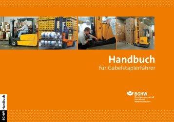 Handbuch für Gabelstaplerfahrer - Berufsgenossenschaft Handel ...