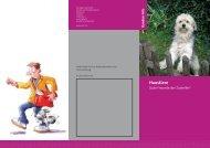 Haustiere CD2011.indd - Berufsgenossenschaft Handel und ...