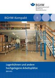 BGI 605 - Berufsgenossenschaft Handel und Warendistribution