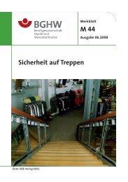 M 44 Sicherheit auf Treppen