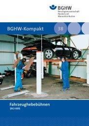 M 038 Fahrzeughebebühnen (BGI 689)