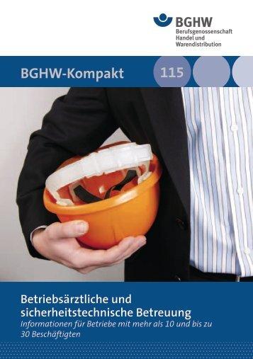 11 115 BGHW-Kompakt
