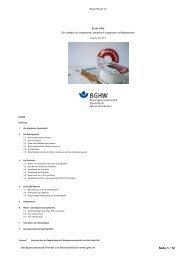 Seite 1 / 12 - Berufsgenossenschaft Handel und Warendistribution