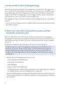 Handlungsanleitung für den Umgang mit Leitern und Tritten - Seite 6