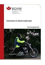 Sicherheit im Motorradhandel - Medienangebot der Sparte ...