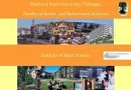 Eberhard - Hochschulsport Universität Tübingen