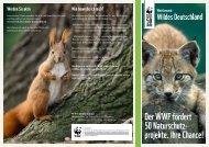 Der WWF fördert 50 Naturschutz- projekte. Ihre ... - Newsroom.de