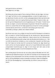 Sehr geehrte Damen und Herren, liebe Jägerinnen ... - Newsroom.de