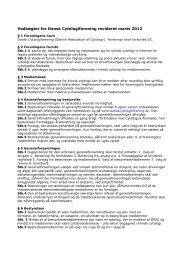 Vedtægter for Dansk Cytologiforening revideret marts 2012