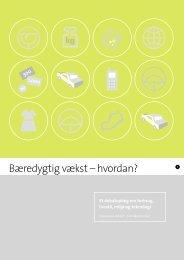 Et debatoplæg til borgerhøringerne om forbrug ... - Teknologirådet