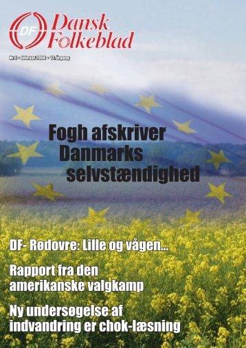 Kim Møller stak hånden i en hvepse - Dansk Folkeparti
