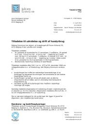 Tilladelsen kan hentes som PDF her - Esbjerg Kommune