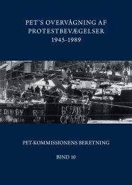 PET'S OVERVÅGNING AF PROTESTBEVÆGELSER 1945-1989