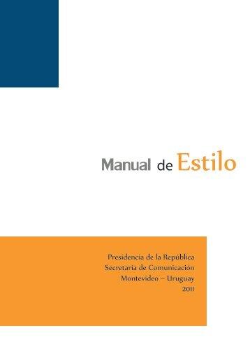Manual de Estilo - Portal del Estado Uruguayo