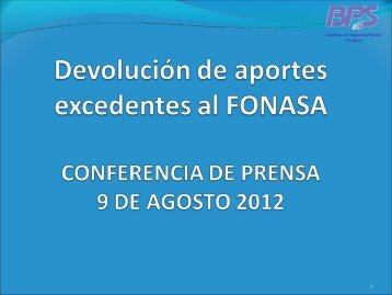 Presentación BPS - Portal del Estado Uruguayo