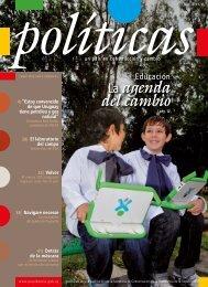 número 4 de la Revista Políticas - Portal del Estado Uruguayo