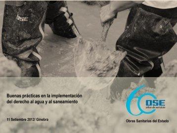 agua potable y saneamiento como derecho humano fundamental