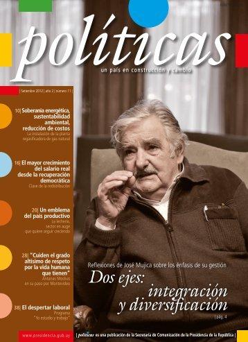 Revista Políticas | Presidencia de la República - Portal del Estado ...