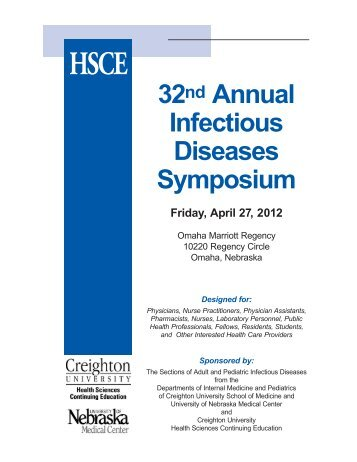 View the promotional flyer for this event - Creighton University