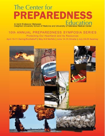 10th ANNUAL PREPAREDNESS SYMPOSIA SERIES - Creighton ...