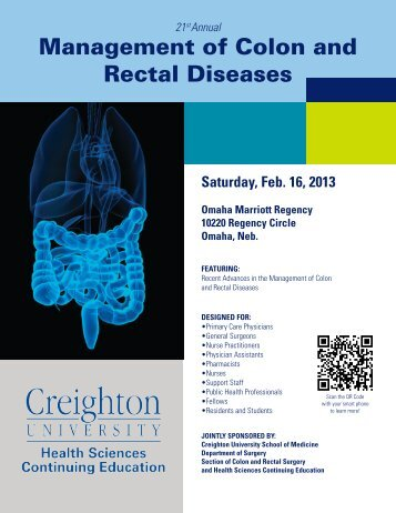 Management of Colon and Rectal Diseases - Creighton University