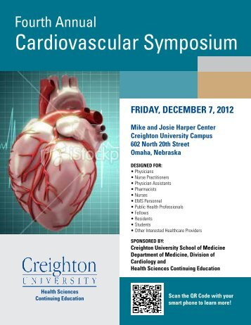 Fourth Annual Cardiovascular Symposium - Creighton University ...