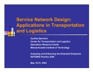 Service Network Design: Applications in Transportation and Logistics