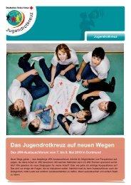 Das Jugendrotkreuz auf neuen Wegen - mein-jrk.de