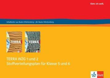 TERRA WZG 1 und 2 Stoffverteilungsplan für Klasse 5 und 6