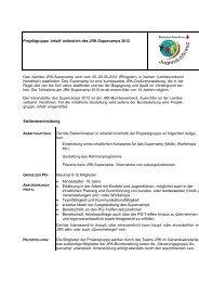 Anlage 1 Stellenbeschreibung AG Supercamp - mein-jrk.de