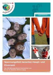 Ausschreibung BildungsreferentInnenseminar - mein-jrk.de