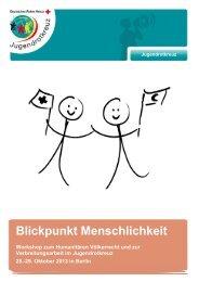 Ausschreibung Workshop Verbreitungsarbeit - mein-jrk.de