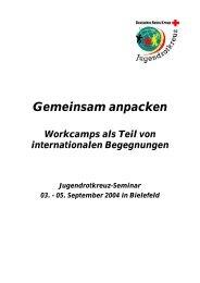 Seminardokumentation - Mein-JRK.de