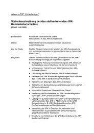 Stellenbeschreibung der/des stellvertretenden JRK ... - mein-jrk.de