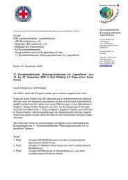 Ergebnisse Buwett RS Bad Koetzting - Mein-JRK.de
