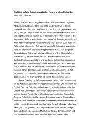 SDG 707 Textbeiträge Brandenburgische Konzerte Gardiner und ...