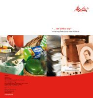 Download as PDF - melitta.info