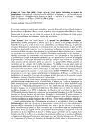Centre de recherches sur le surréalisme - Centre de Recherche sur ...
