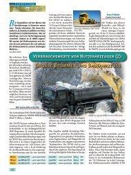 Große Brummer und Baufahrzeuge