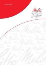 Annual Report 2008 - melitta.info