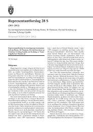 Representantforslag 28 S - Stortinget