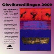 Olsvikutstillingen 2009 - Olsvik kirke