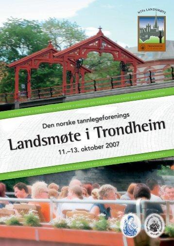 Landsmøte i Trondheim - Den Norske Tannlegeforening